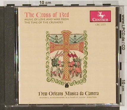 V.A.The Cross Of Red: New Orleans Musica Da Camera, Centaur(), , 98 - CD - 91489 - 10,00 Euro