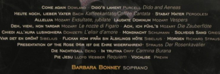Bonney,Barbara: The Radiant Voice Of, FS-New, Decca(), D, 2001 - CD - 91492 - 10,00 Euro