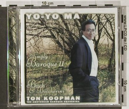 Ma,Yo-Yo: Simply Baroque 2, Sony(), A, 2000 - CD - 91497 - 7,50 Euro