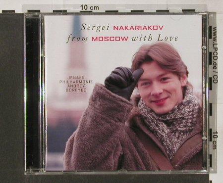 Nakariakov,Sergei: From Moscow With Love, Teldec(), D, 2001 - CD - 91571 - 5,00 Euro