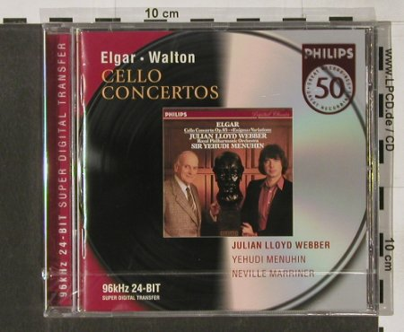 Elgar,Edward / William Walton: Cello Concertos, FS-New, Philips(), D, 01 - CD - 91574 - 10,00 Euro