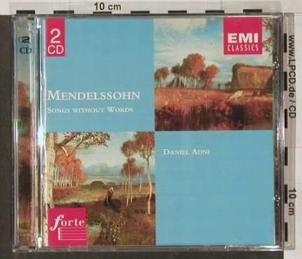 Mendelssohn,Felix: Songs Without Words,Daniel Adni, EMI(), D, 97 - 2CD - 91587 - 10,00 Euro