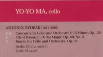 Dvorák,Antonin: Cello Concerto, Sony(), A, 86 - CD - 91590 - 10,00 Euro