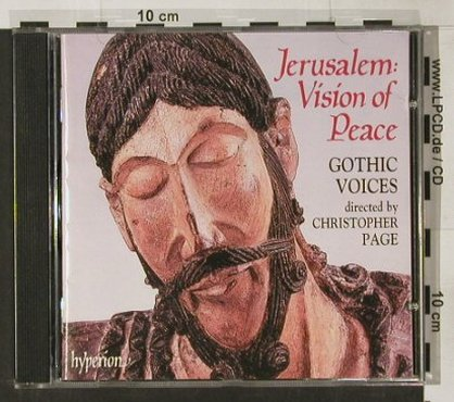 Gothic Voices: Jerusalem: Vision Of Peace, Hyperion(), UK, 1998 - CD - 91628 - 10,00 Euro
