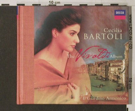 Bartoli,Cecilia: The Vivaldi Album, Digi-Book, woc, Decca(), D, 99 - CD - 91802 - 5,00 Euro