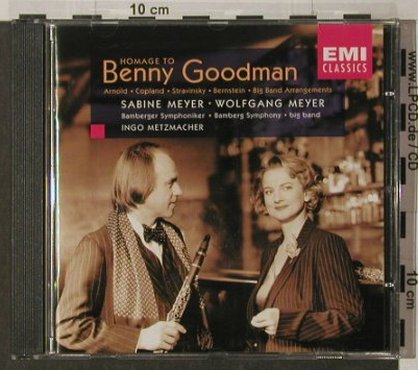 Goodman,Benny: Homage To-Sabine & Wolgang Meyer, EMI(), NL, 1998 - CD - 92004 - 7,50 Euro
