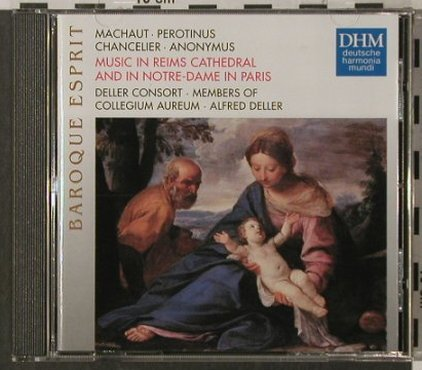 V.A.Music in Reims Cathedral: and in Notre-Dame.Machaut,P.Magnus., DHM(), D, 1995 - CD - 92014 - 6,00 Euro