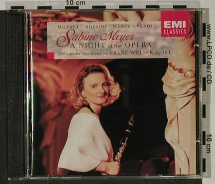 Meyer,Sabine: A Night At The Opera, EMI(), NL, 1996 - CD - 92641 - 9,00 Euro