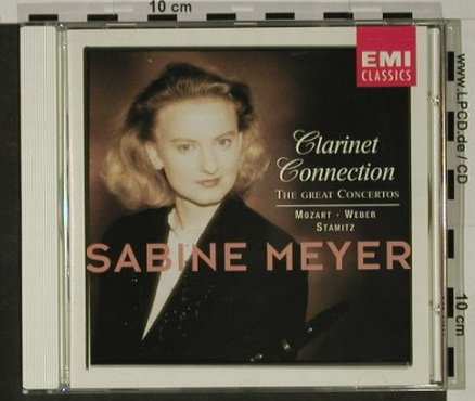 Meyer,Sabine: Clarinet Connection, EMI(), NL, 1994 - CD - 92644 - 9,00 Euro