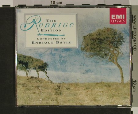 Rodrigo,Joaquín: The Rodrigo Edition, EMI(), NL, 1992 - 4CD - 92667 - 14,00 Euro