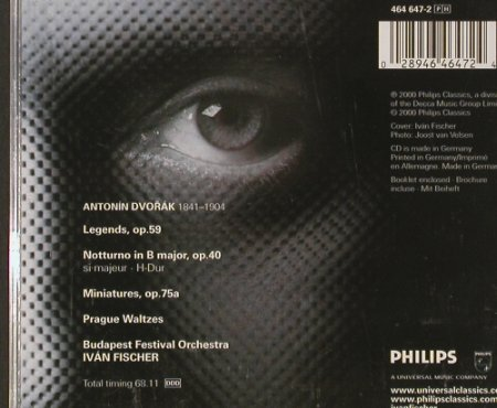 Dvorák,Antonin: Legends, Prague Waltzes..., Philips(), D, 2000 - CD - 92676 - 7,50 Euro