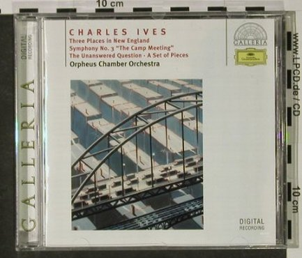 Ives,Charles: 3 Places In New England..., Deutsche Gramophon(), D, 1994 - CD - 92693 - 7,50 Euro