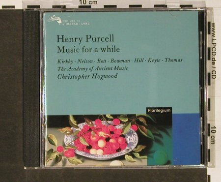 Purcell,Henry: Music for a while, L'Oiseau-Lyre(443 195-2), D, 1994 - CD - 93174 - 10,00 Euro