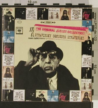 Stravinsky,Igor conducts Stravinsky: Jacket Collection,Box,like new, Sony(), , 1999 - 9CD - 93198 - 40,00 Euro