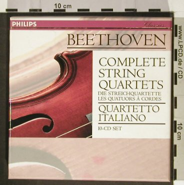 Beethoven,Ludwig van: Complete String Quartets, Philips(454 062-2), D, 1996 - 10CD - 93215 - 35,00 Euro