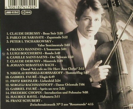 Beckmann,Thomas: Short Pieces For The Cello '88, Jaro(), D, 1994 - CD - 93974 - 10,00 Euro