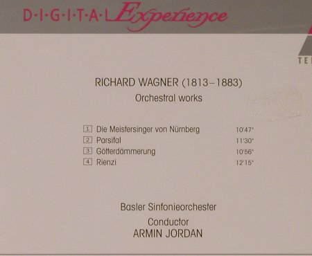 Wagner,Richard: Orchestral Works, Teldec(), D, 1994 - CD - 94607 - 7,50 Euro