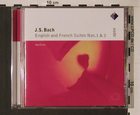 Bach,Johann Sebastian: English & French Suites Nr.1&2, Warner Classics(), EU, 2001 - CD - 94631 - 5,00 Euro