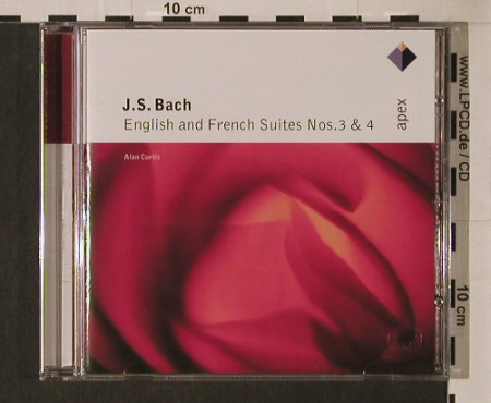 Bach,Johann Sebastian: English & French Suites Nr.3&4, Warner Classics(), EU, 2001 - CD - 94632 - 5,00 Euro
