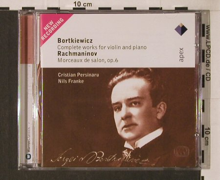 Bortkiewicz,S. / S.Rachmaninov: Complete Works For Violin & Piano/M, Warner Classics(), EU, 2005 - CD - 94654 - 5,00 Euro