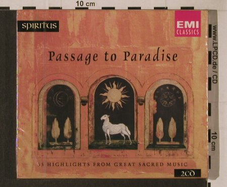 V.A.Passage To Paradise: 33 Tr., Boxed, FS-New, EMI(5 69241 2), NL, 1996 - 2CD - 94765 - 12,50 Euro