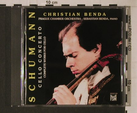 Schumann,Robert: Cello Concerto, FSM(FCD 97 229), D, 1994 - CD - 94806 - 10,00 Euro