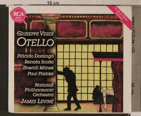 Verdi,Guiseppe: Othello(78), Box, Book, RCA(), EC, 1997 - 2CD - 95330 - 7,50 Euro