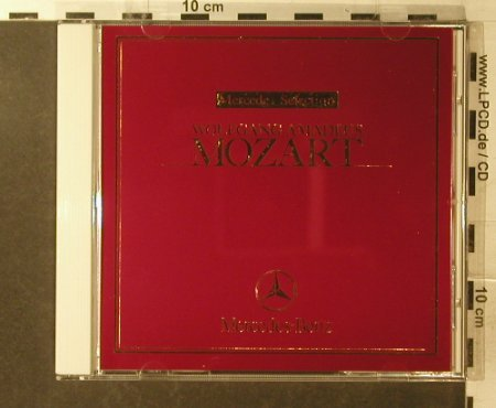 Mozart,Wolfgang Amadeus: Mercedes Selection, Mercedes-Benz(MBJ199109), J,  - CD - 96063 - 7,50 Euro