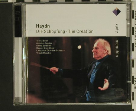 Haydn,Joseph: Die Schöpfung-The Creation, Apex/Warner(), , 2003 - 2CD - 97596 - 7,50 Euro