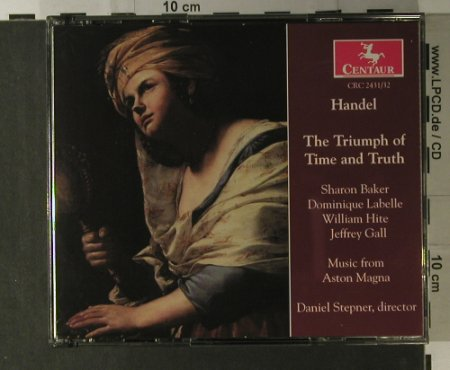 Händel,Georg Friedrich: The Triumph Of Time And Truth, Centaur(CRC 2431/32), , 1999 - 2CD - 98132 - 17,50 Euro