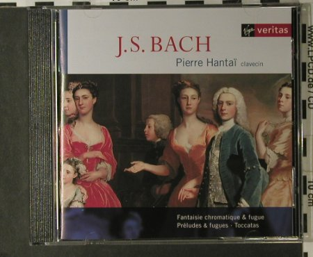Bach,Johann Sebastian: Fantaisie Chromatique & Fugue, Virgin(), NL, 1998 - CD - 98187 - 20,00 Euro