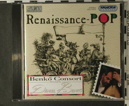 V.A.Renaissance-Pop: The Completed Benkö Consort, Hungaroton(HCd 12575), A, 1997 - CD - 98201 - 12,50 Euro