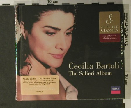 Bartoli,Cecilia: The Salieri Album, FS-New, Decca(475 100-2), D, 2000 - CD - 98262 - 10,00 Euro