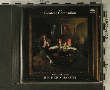 Harvey,Richard: The Genteel Companion, ASV(CD DCA 558), UK, 1986 - CD - 98301 - 10,00 Euro