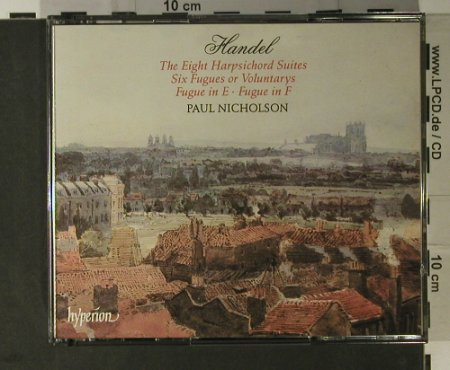 Händel,Georg Friedrich: The Eight Harpischord Suites, Hyperion(CDA66931/2), UK, 1994 - 2CD - 98322 - 17,50 Euro