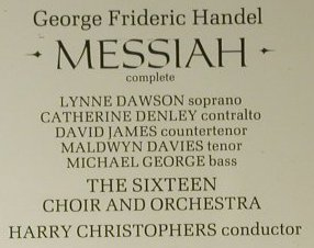 Händel,Georg Friedrich: Messiah, Hyperion(CDA 66251-2(S)), UK, 1987 - 2CD - 98379 - 15,00 Euro