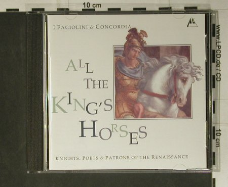 V.A.All The King's Horses: Knights,Poets&Patrons,Renais., Metronome(MET CD 1013), UK, 1998 - CD - 98465 - 12,50 Euro