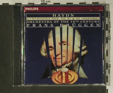 Haydn,Joseph: Symphonies Nos. 90,91 & 92 Oxford, Philips(446 677-2), D, 1996 - CD - 98567 - 17,50 Euro