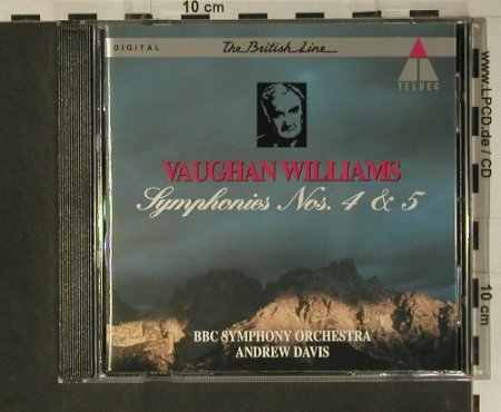 Williams,Vaughan: Symphonies Nos. 4 & 5, Teldec(), D, 1993 - CD - 98570 - 7,50 Euro