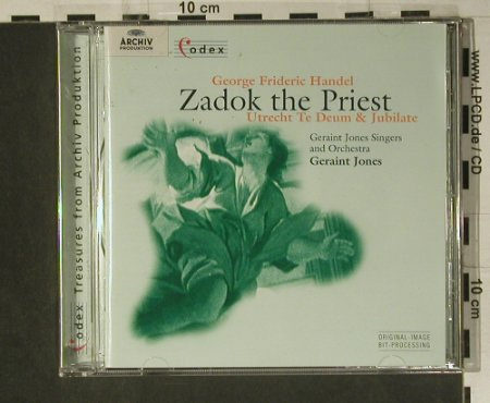 Händel,Georg Friedrich: Zadok The Priest, Archiv(453 167-2), D, 1959 - CD - 98639 - 15,00 Euro