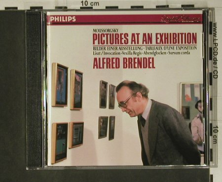 Brendel,Alfred: Pictures At An Exhibition, Philips(420 156-2), D, 1987 - CD - 98658 - 10,00 Euro