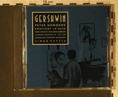 Gershwin,George: Rhapsody In Blue, EMI(CDC 7 54280 2), D, 1991 - CD - 98661 - 12,50 Euro