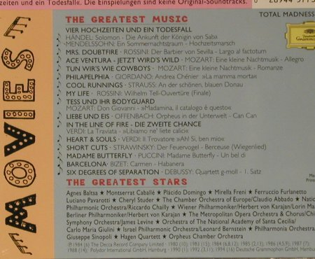 V.A.Mad About Movies (The Sequel): The Greates Stars..Greatest Music, D.Gr.(445 773-2), D, 1996 - CD - 99036 - 4,00 Euro