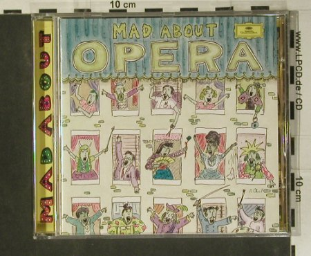 V.A.Mad About Opera: The Greates Stars..Greatest Music, D.Gr.(437 636-2), D, 1996 - CD - 99041 - 4,00 Euro