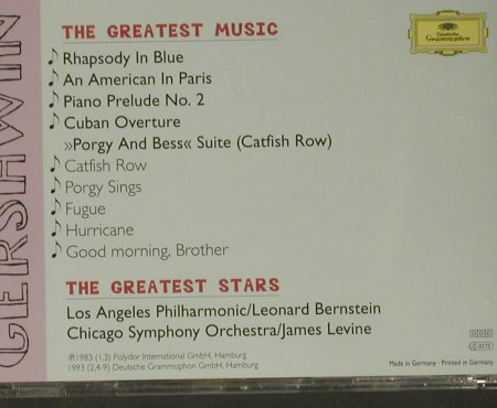 V.A.Mad About Gershwin: The Greates Stars..Greatest Music, D.Gr.(445 768-2), D, 1996 - CD - 99045 - 4,00 Euro