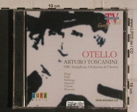 Verdi,Guiseppe: Otello, FS-New, Aura Music(LRC 1095-2), I, 2000 - CD - 99934 - 5,00 Euro