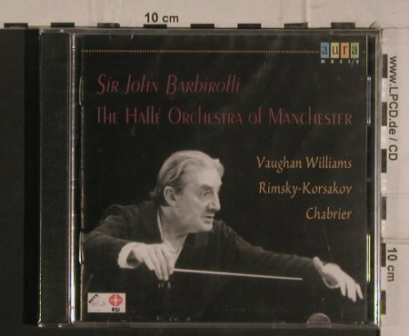 Bardirolli,Sir John: The Hallé Orchestra Of Manchester, Aura Musik(AUR 181-2), I, FS-New, 1999 - CD - 99935 - 5,00 Euro