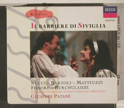 Rossini,Gioacchino: IL Barbiere di Siviglia,Box,Booklet, Decca(425 520-2), D, 1989 - 3CD - 99965 - 20,00 Euro