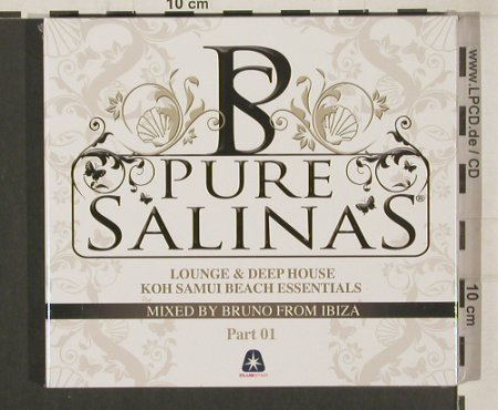 V.A.Pure Salinas: Koh Samui, By Bruno from Ibiza, 01, ClubStar(), EU, 2009 - 2CD - 80041 - 7,50 Euro