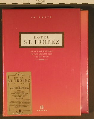 V.A.Hotel St.Tropez: Jens Buchert..Sleepless in Warsaw, Crazy Diamond,Box(CD06), EU,FS-New, 2006 - 3CD - 80434 - 15,00 Euro